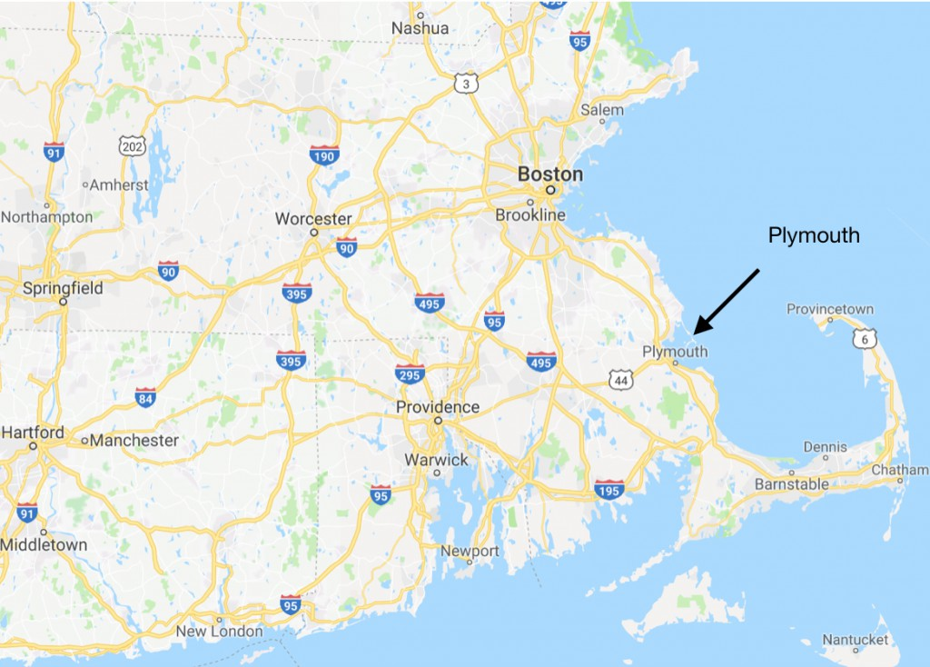 map ma plymouth
