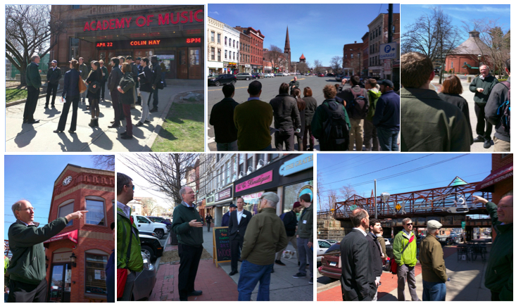 Walking Tours in Northampton - Photos by Taryn Fisher